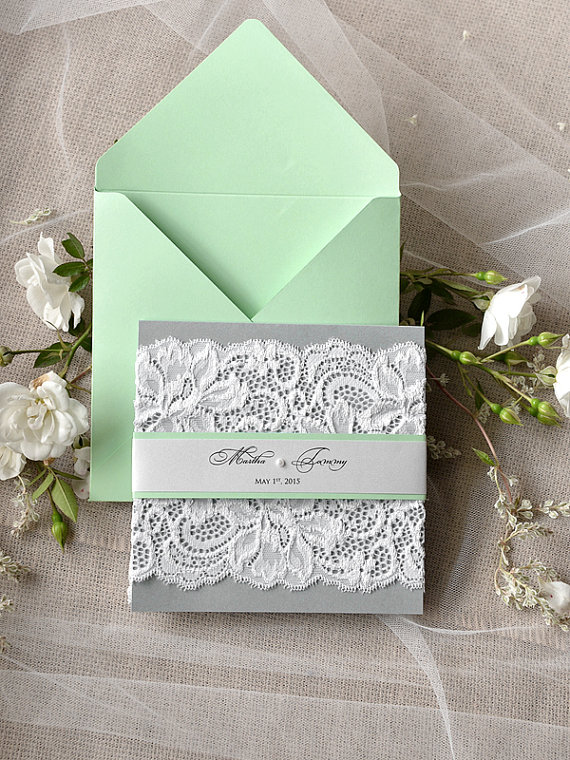 Pearl Wedding Invitations