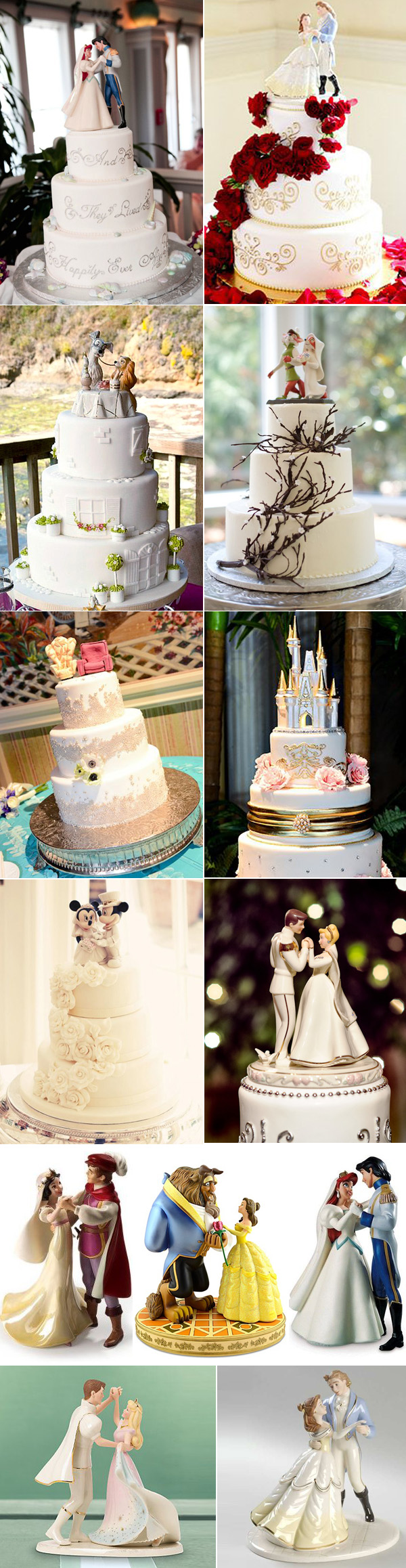 39 Unique   Funny Wedding Cake Toppers   Deer Pearl Flowers Disney Wedding Cake Toppers