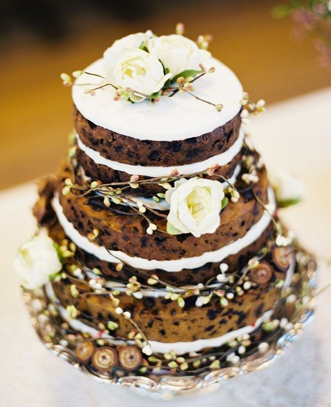49 Naked Wedding Cake Ideas for Rustic Wedding   Deer Pearl Flowers     Rustic Wedding Ideas   Naked Wedding Cakes Rustic wedding ideas with  fruit