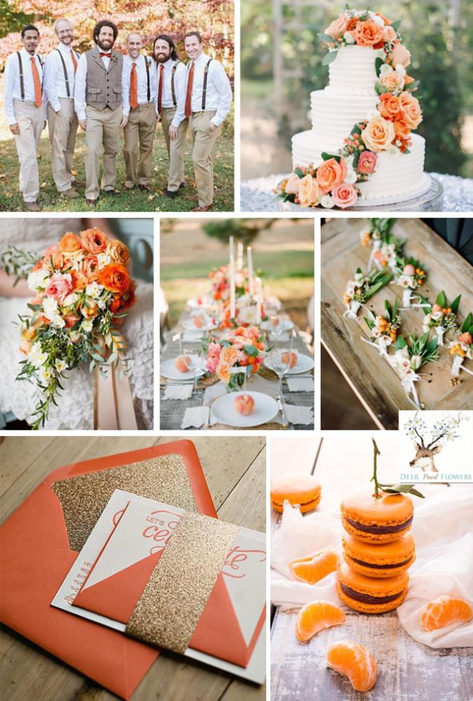 Vintage Wedding Colors Fall