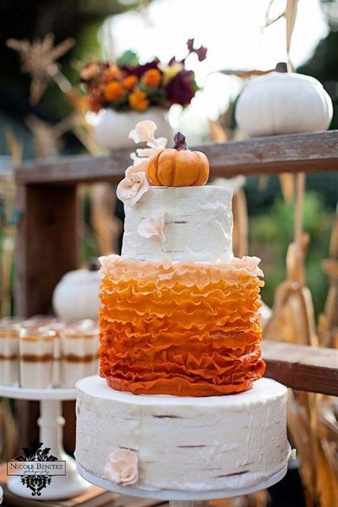 45 Incredible Fall Wedding Cakes That Wow Deer Pearl Flowers