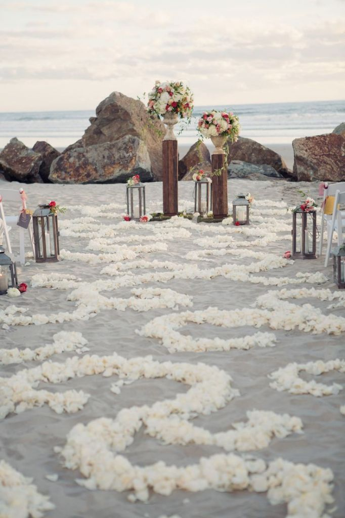 50 Beach Wedding Aisle Decoration Ideas Deer Pearl Flowers