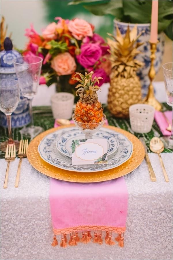 20 Pineapple Wedding Decor Ideas Deer Pearl Flowers