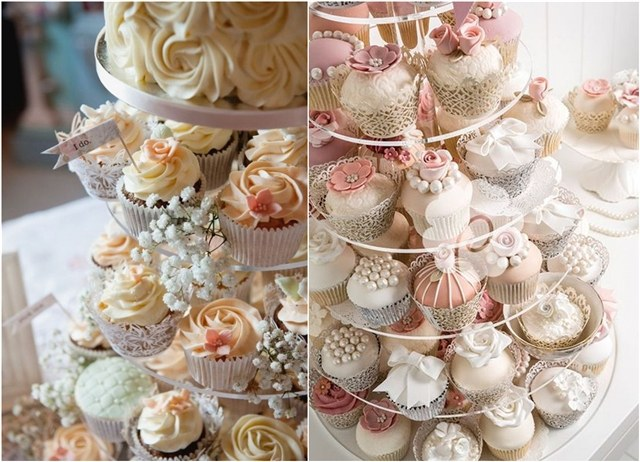 25 Delicious Wedding Cupcakes Ideas We Love   Deer Pearl Flowers Mini Wedding Cake Wedding Cupcakes