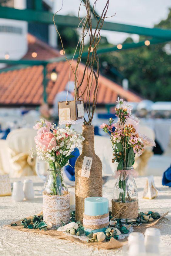 Manzanita Wedding Centerpieces Kit