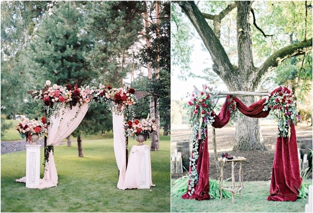 45 Amazing Wedding Ceremony Arches And Altars To Get Inspired Deer Pearl Flowers