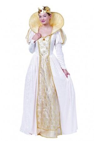 Costume De Reine Blanche Et Autres Costumes De Reine Adulte