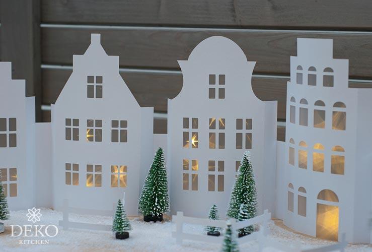 Diy Weihnachtliche Fensterdeko Mit H 252 Bscher H 228 Userzeile