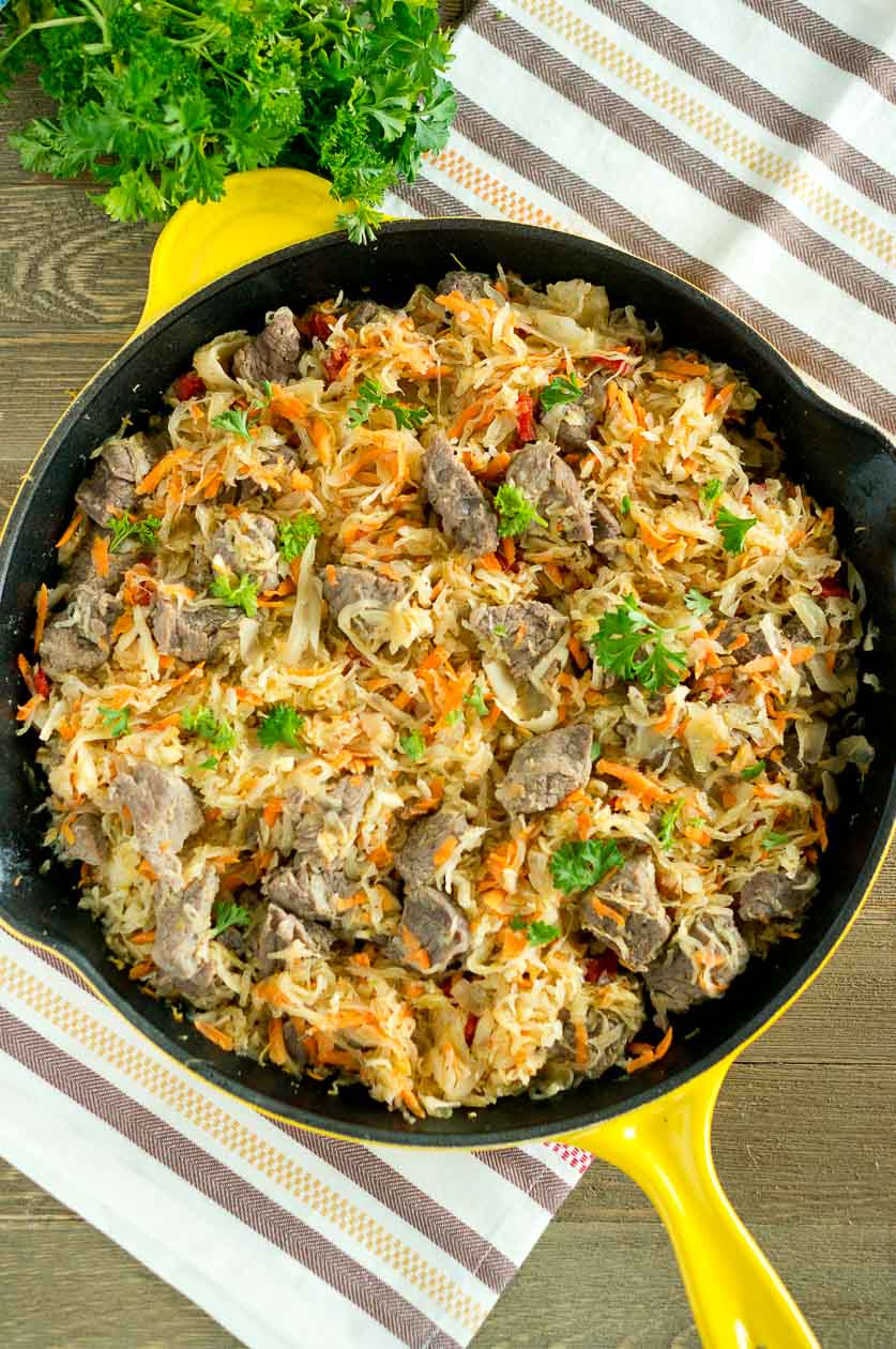 Cabbage Beef Platter Corned Irish
