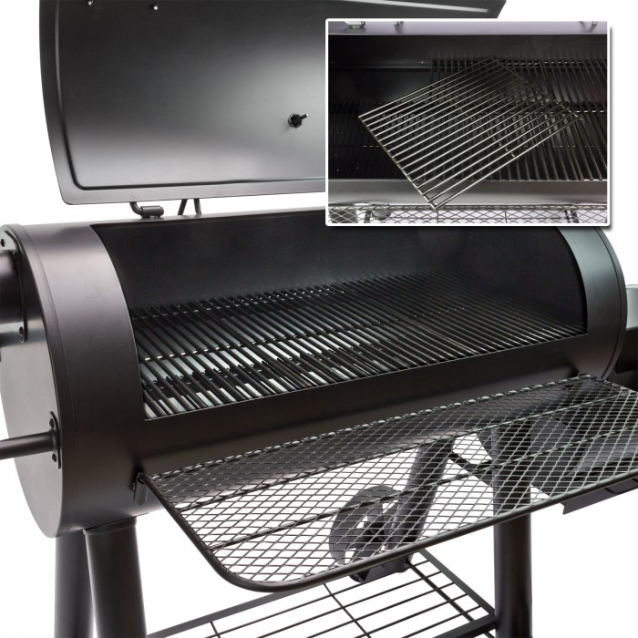 Barbecue Grill Fumoir San Antonio Xxl Plein Air Camping