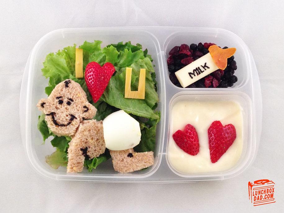 """Lunchbox Dad"" Creates Impressive Edible Art For His ..."