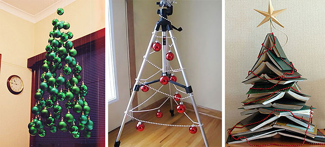 Unconventional Christmas Tree Ideas