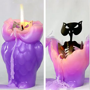Innovative Candle Holder Makes Candle Last At Least Twice