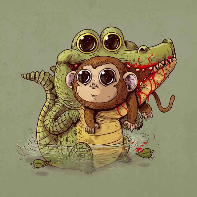 Cute Predators VS Used-To-Be-Cute Prey | DeMilked