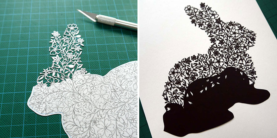 Incredible Paper Art Hand Cut From Single Sheets Of Paper