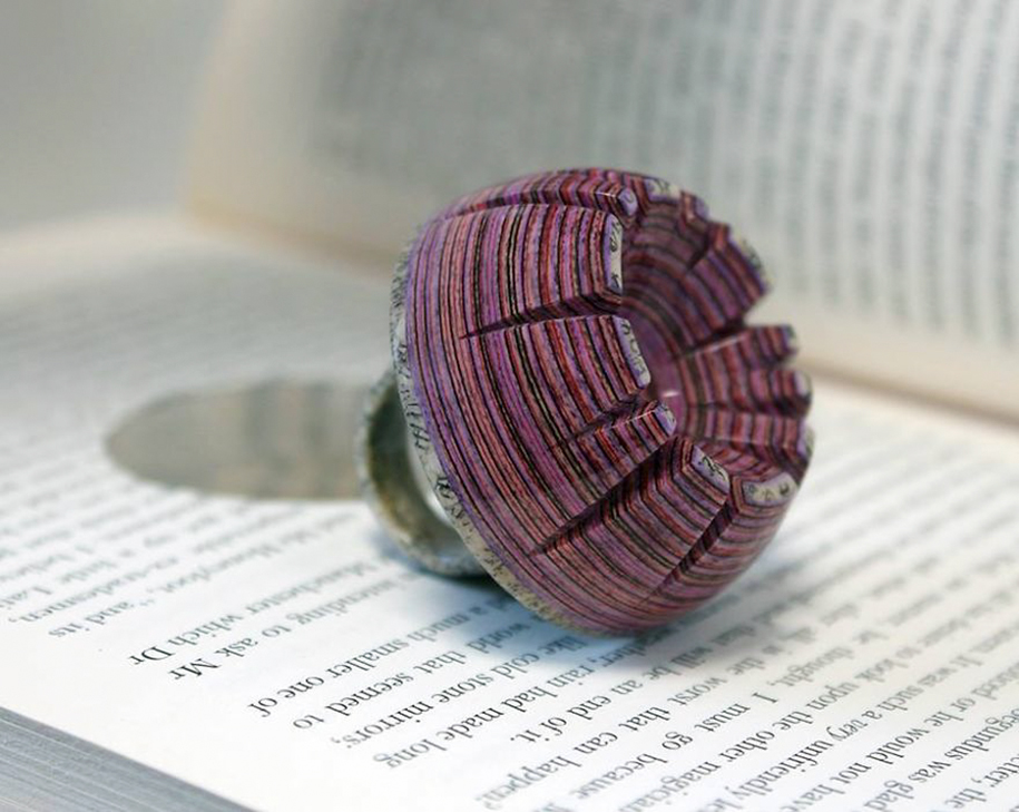 Jewelry Made From Vintage Books By Jeremy May Demilked