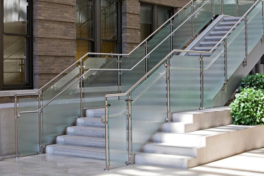 Stainless Steel Railings Vs Wooden Railings Demilked | Stainless Steel Staircase Railing With Glass | Thin Glass | Stairway | Tempered Glass | Handrail | Banister