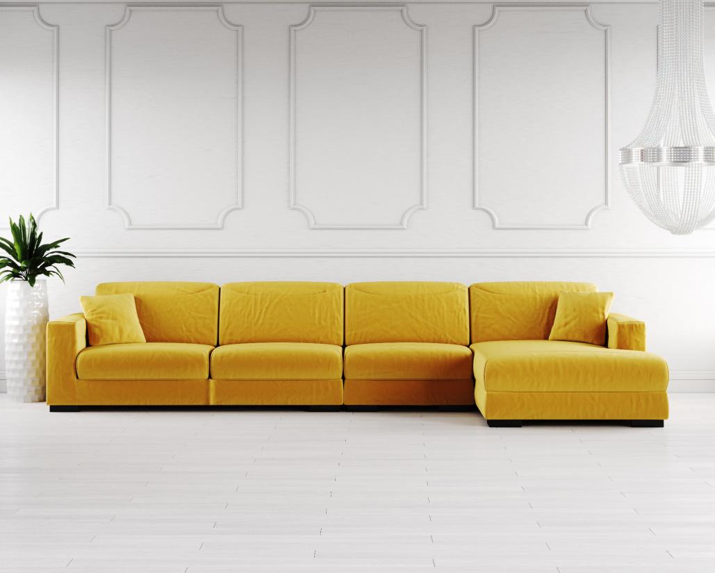 Buy Lexus Fabric Corner Sofa Online In London Uk