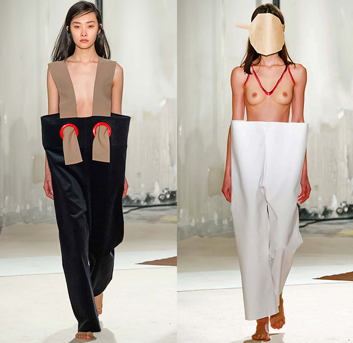 Jacquemus 2015 2016 Fall Autumn Winter Womens Runway   Denim Jeans     Jacquemus 2015 2016 Fall Autumn Winter Womens Runway Catwalk Looks   Mode       Paris Fashion