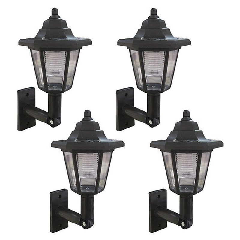 Exterior Wall Mounted Solar Lights