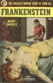 Frankenstein by Mary Shelley, a SF / horror book