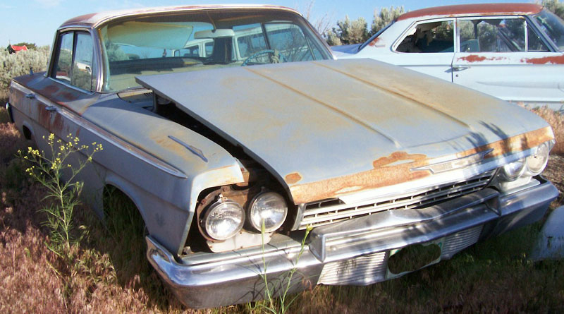 Restorable Chevrolet Classic and Vintage Cars For Sale 1962 65 1962 Chevrolet Impala 4 door hardtop  2