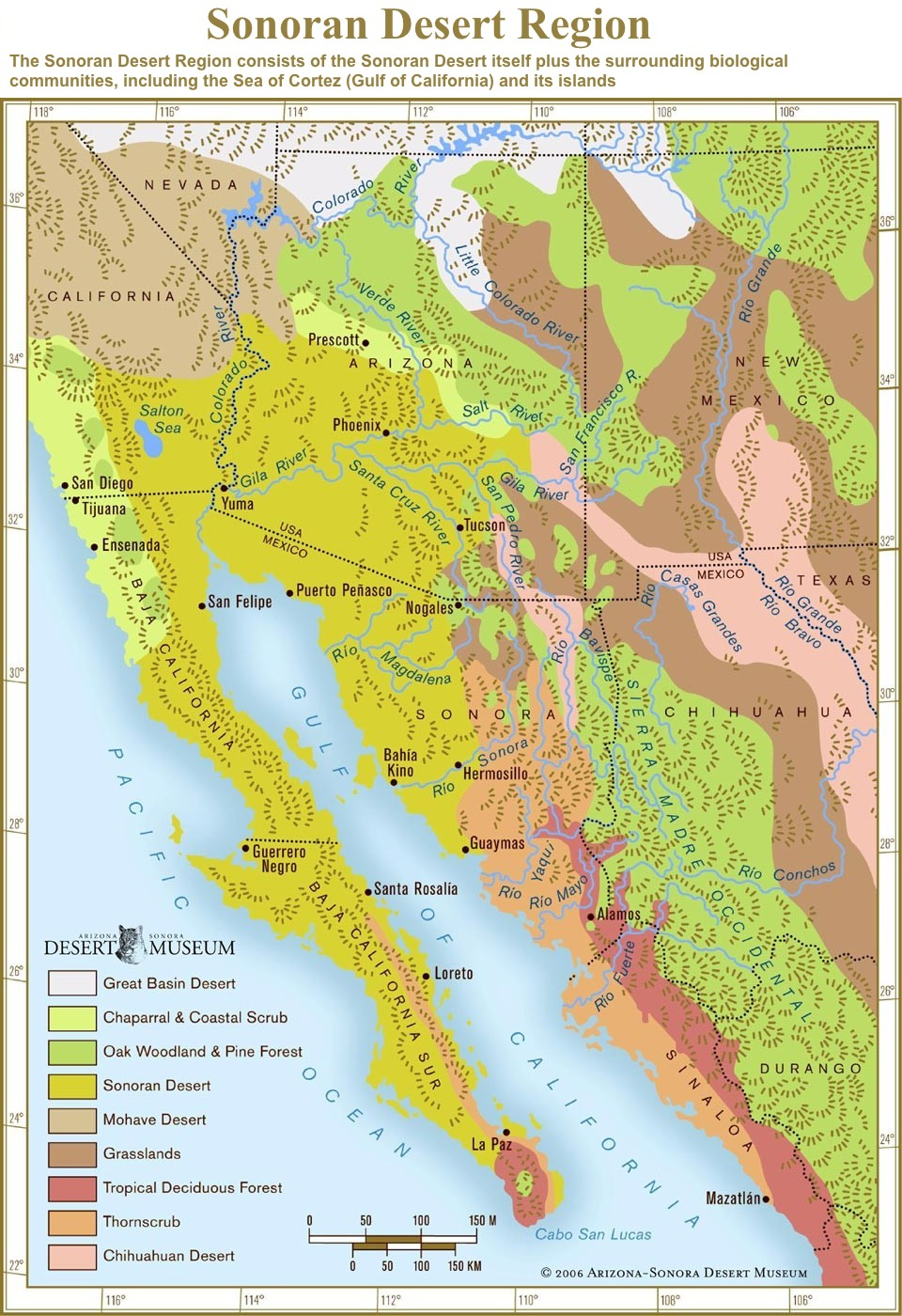 World Where Are Sierra Madre Map