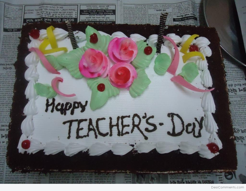 Teacher S Day Cake Desicomments Com