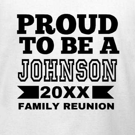 Johnson family reunion T-Shirt Design | DesignAShirt