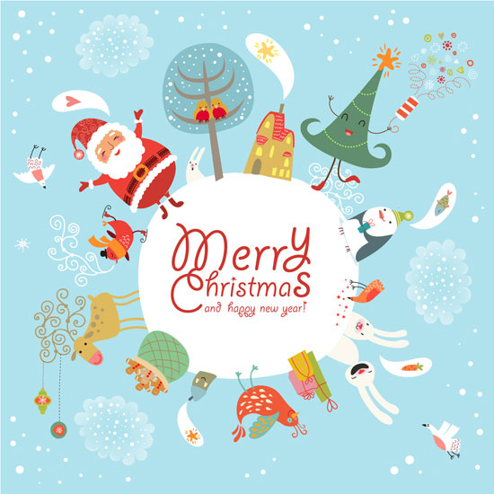 20 Most Beautiful Premium Christmas Card Designs From ...