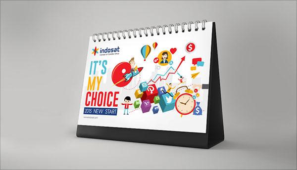 25 New Year 2015 Wall Amp Desk Calendar Designs For Inspiration