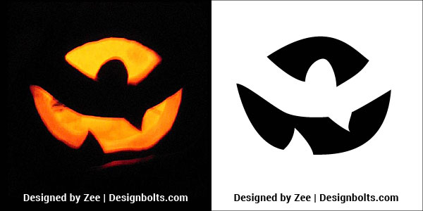 Beginners Carving Stencils Ideas Pumpkin