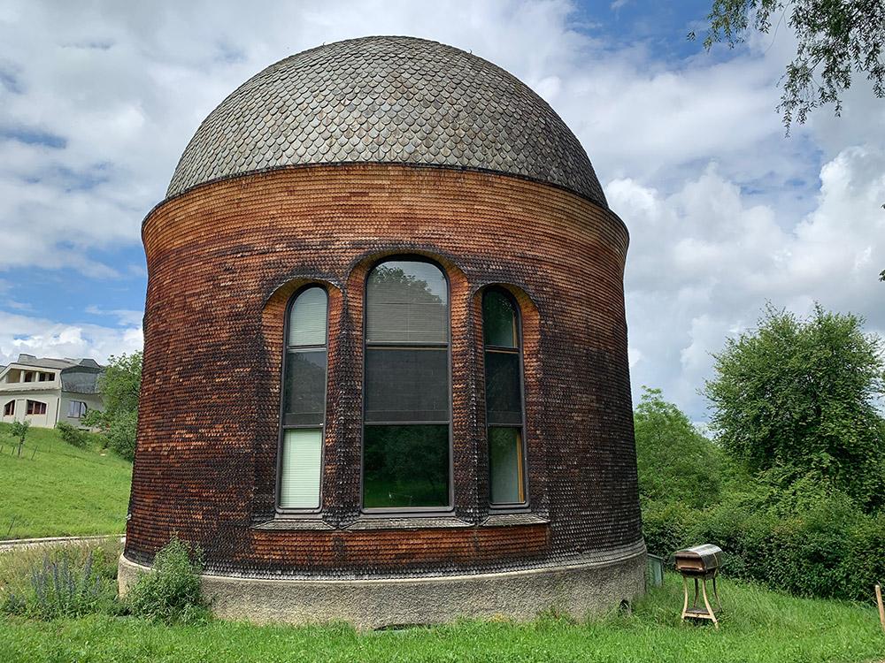Rudolf Steiner S Goetheanum Is An Anthroposophical
