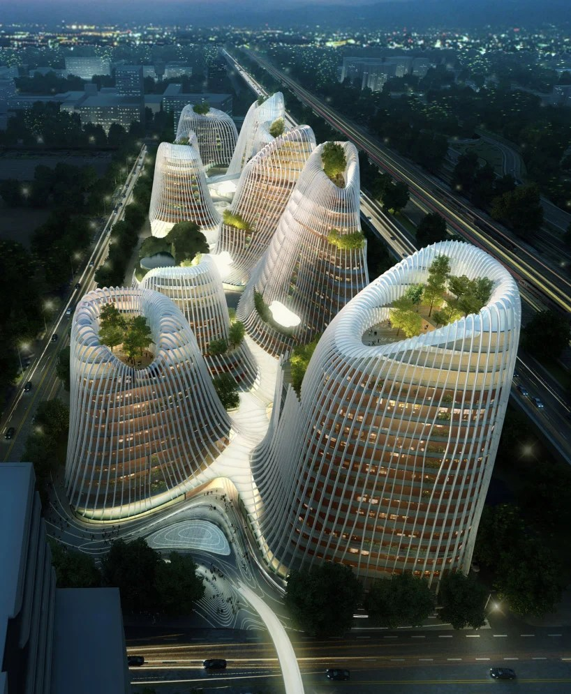 ma yansong / MAD architects: shan shui city at designboom ...