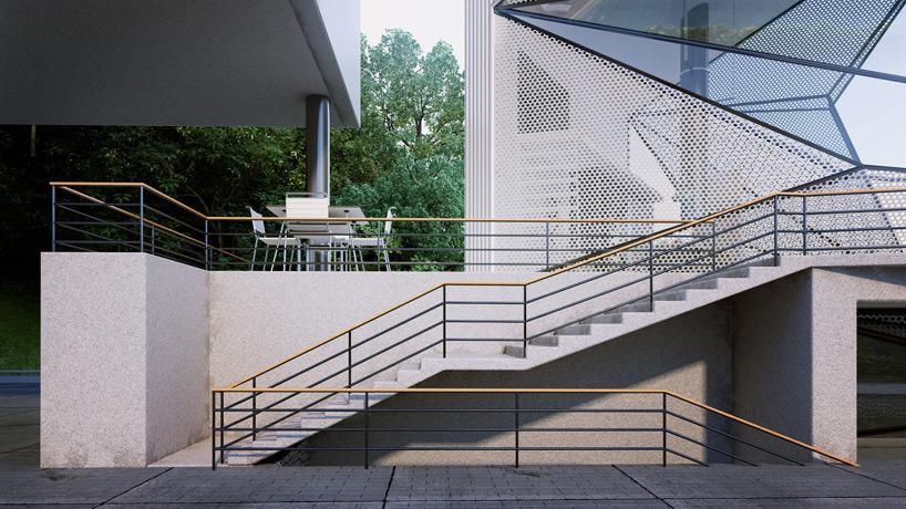 Urban Office Architecture Designs Geometric Aviator S Villa
