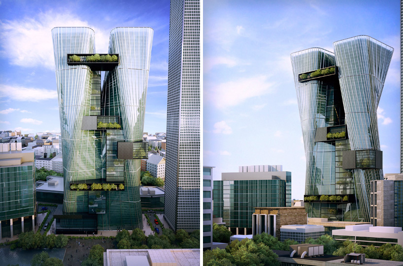 Urban Office Architecture Envisions A Rising City At