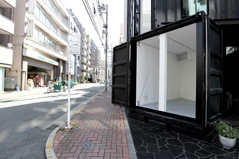 Tomokazu Hayakawa Architects Configures Container Corner