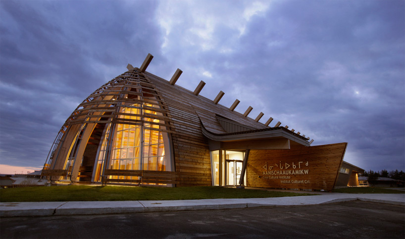 Cree Cultural Institute In Quebec By Rubin Amp Rotman Architects
