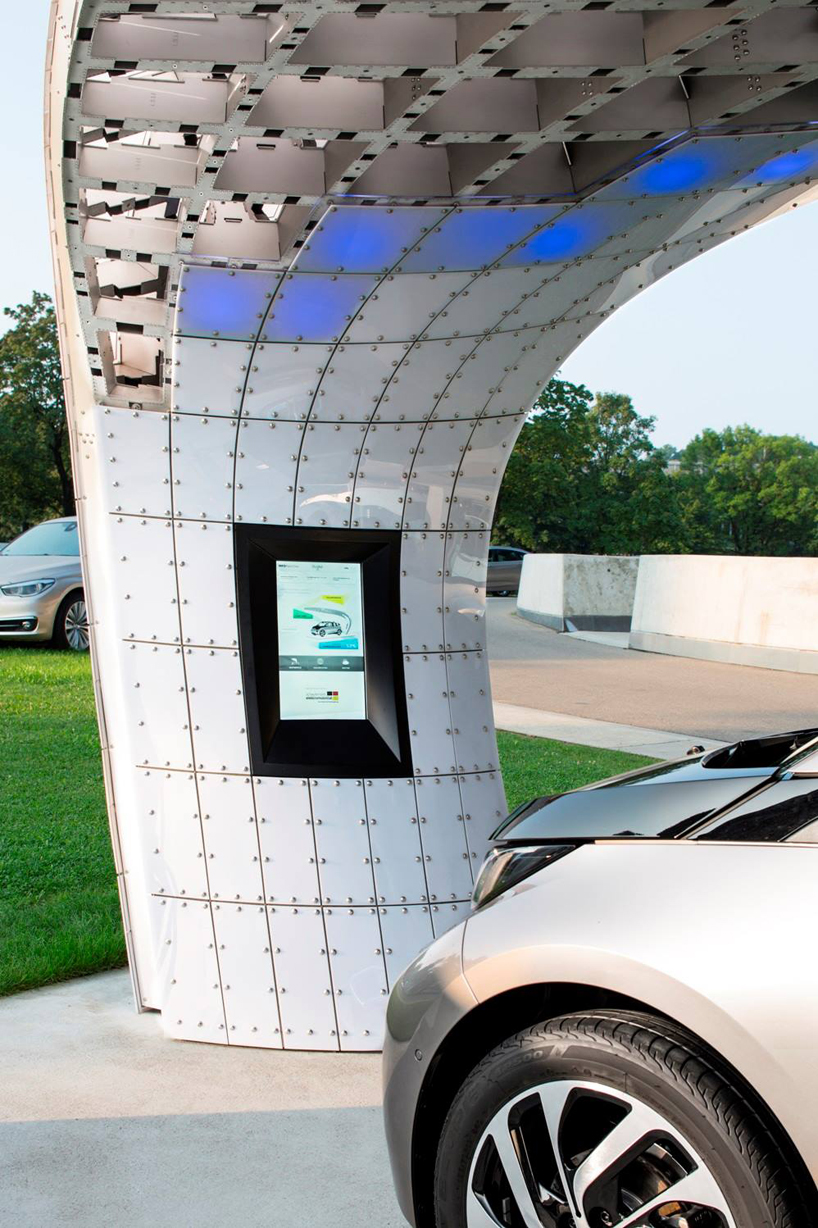 Eight Installs Solar Powered Fast Charging Station At Bmw Welt