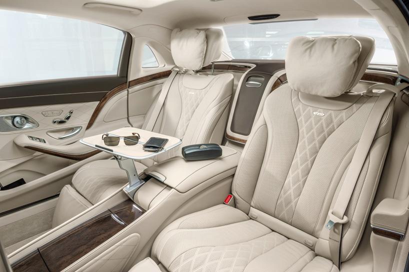 2017 Mercedes Benz Gls Interior