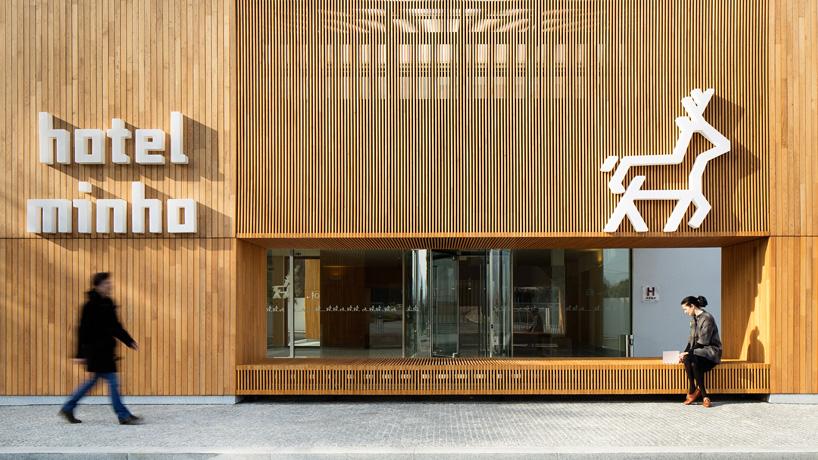 Virgula I Forms Iberian Chestnut Wood Boxes For Hotel