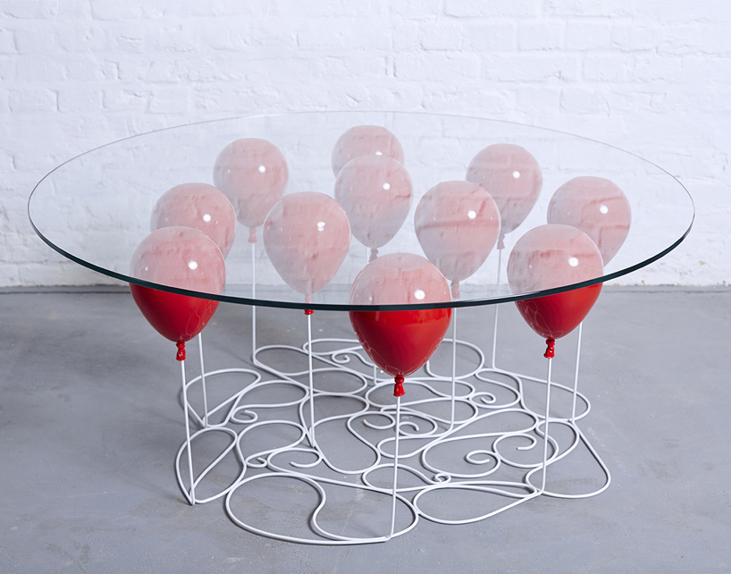 Duffy London S Up Balloon Coffee Table Floats Its Surface