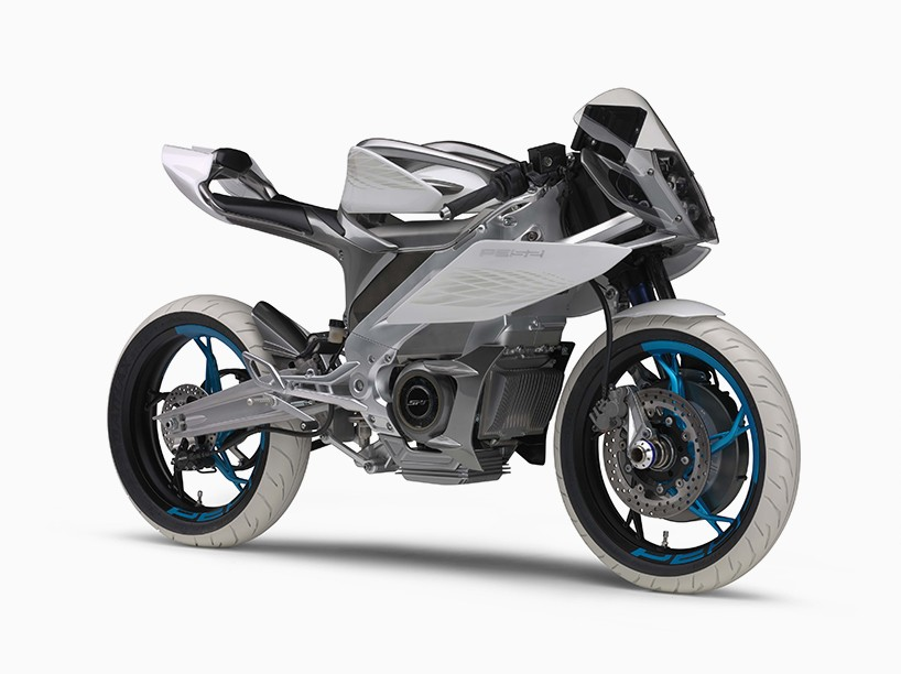 Yamaha Develops Electric Motorcycle Series For The Streets