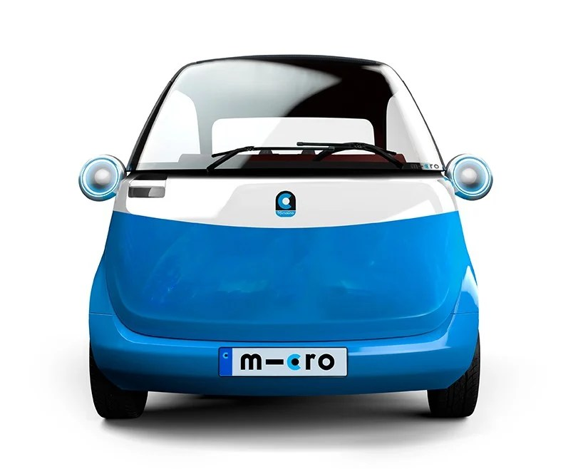 Microlino Electric Vehicle Concept At 2016 Geneva Motor Show