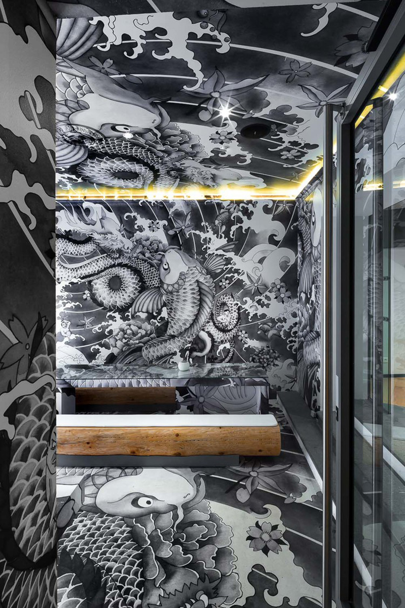 Vincent Coste Inks Japanese Restaurant With Yakuza Tattoo
