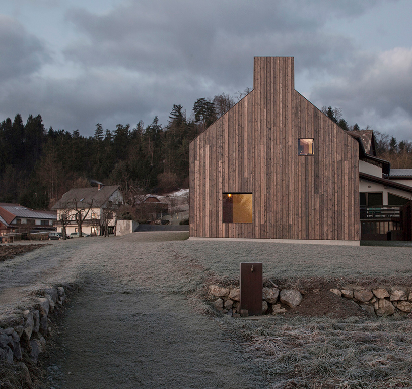 Chimney House In Slovenia By Dekleva Gregorič Architects