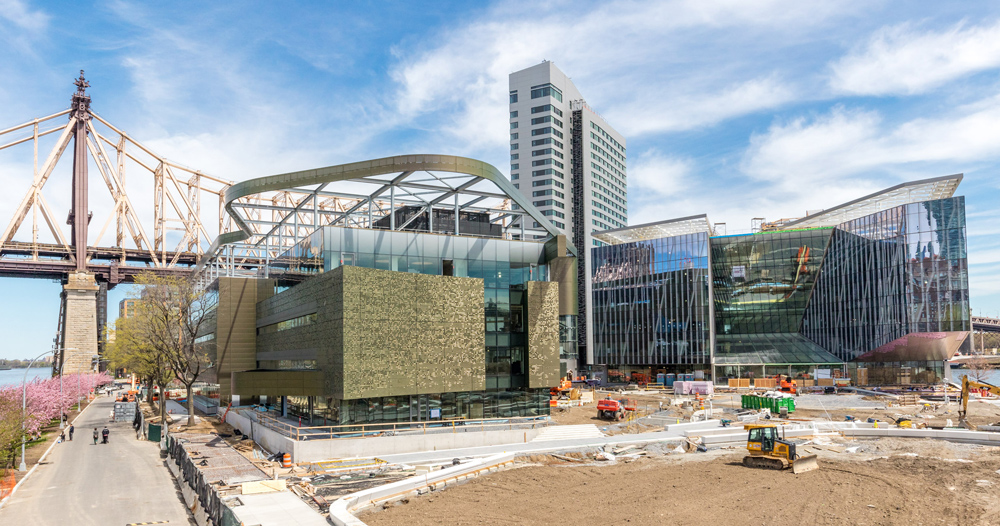 First Phase Of Cornell Tech S New York Campus Nears Completion