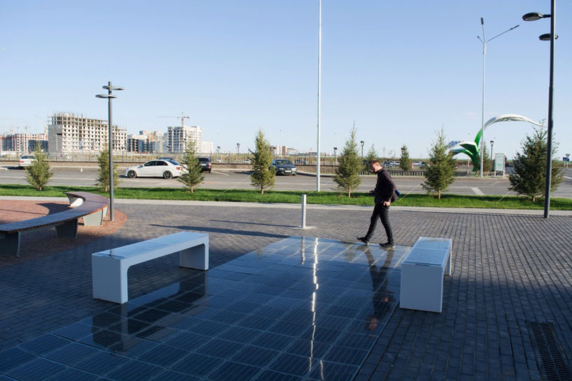 Platio Integrates Solar Panels To Street Furniture And