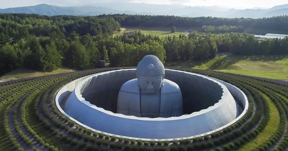 Buddha Statue Interior Design