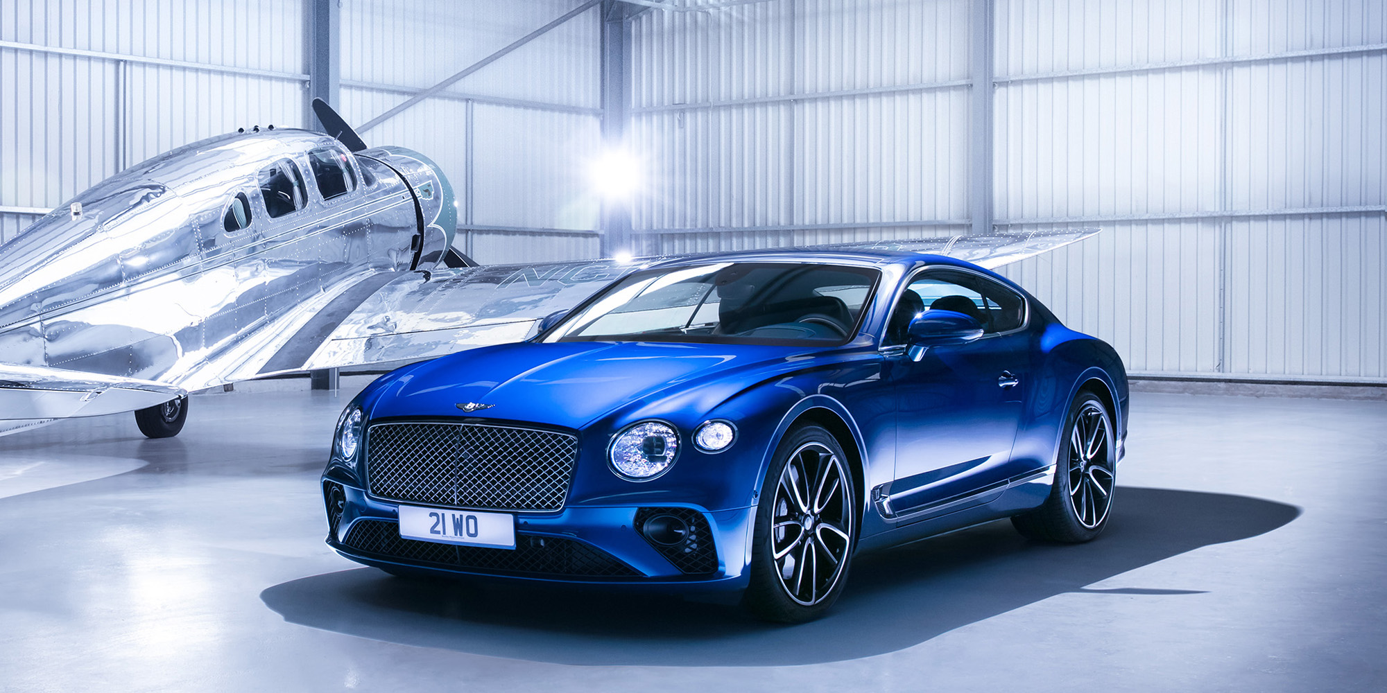 The Bentley Continental Gt Makes Global Debut At Iaa 2017